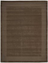Nourison 72303 Westport Area Rug Collection Mocha 3 ft 6 in. x 5 ft 6 in. Rectangle