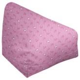 "Kitterman Bean Bag Ebern Designs Size: 38"" H x 42"" W x 29"" D, Product Type: Bean Bag Chair, Fabric: Blush/Blue Polyester Blend"