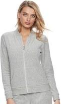 Juicy Couture Women's Gray Velour Jacket