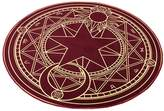 FANCY PUMPKIN The Magic Circle Pattern Round Carpet Floor Mats Yoga Cushion for Playroom/Cloakroom