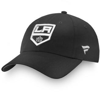 Women's Fanatics Branded Black Los Angeles Kings Authentic Pro Rinkside Adjustable Hat
