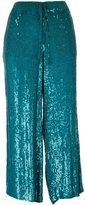 P.A.R.O.S.H. sequinned culottes - women - Viscose/PVC - XS