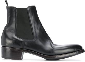 Premiata Elasticated Panel Ankle Boots
