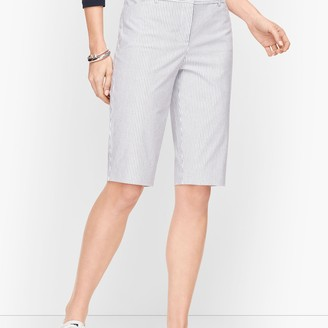"Talbots Perfect Shorts - 13"" - Railroad Stripe"