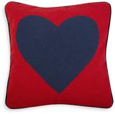 Jonathan Adler Heart Needlepoint Throw Pillow