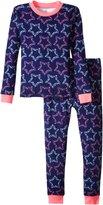 Petit Lem Rock Star 2 Piece PJ Set (Toddler/Kid) - Multicolor - 5