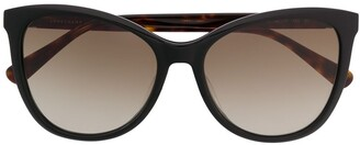 Longchamp oversized frame sunglasses