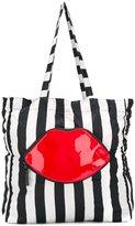 Lulu Guinness printed foldaway shopping bag - women - Nylon/PVC - One Size