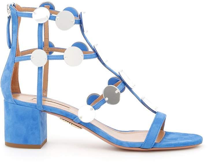 Aquazzura Indian Moon Sandals