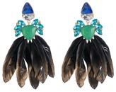 ABS by Allen Schwartz Stone & Feather Earrings - 100% Exclusive