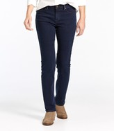 L.L. Bean L.L.Bean True Shape Tencel Jeans, Straight-Leg
