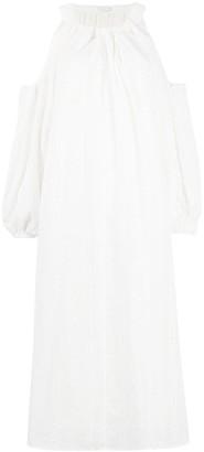 REJINA PYO Cold-Shoulder Smock Dress