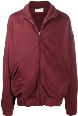 LES TIEN Oversized Cotton Track Jacket