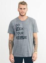 Junk Food Clothing Go F#ck Your #selfie Tee-steel-m