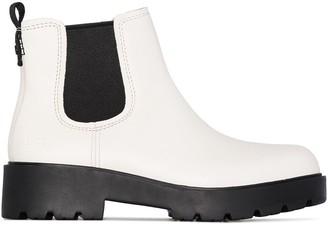 UGG Markstrum leather ankle boots