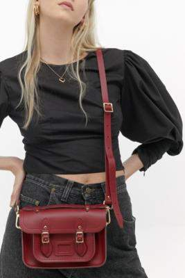 The Cambridge Satchel Company Red Mini Satchel - red at Urban Outfitters