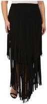 Mynt 1792 Plus Size Fringe Skirt