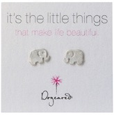 Dogeared Little Things Elephant Earring