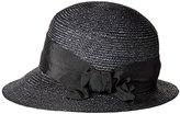 Gottex Women's Darby Fine Milan Straw Packable Sun Hat Rated