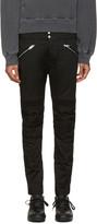 Diesel Black P-Ray Zip Trousers