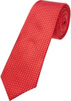 Oxford Silk Tie Red X
