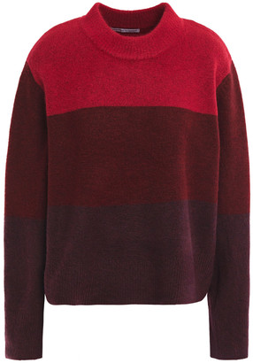 Rebecca Minkoff Miller Love Two-tone Knitted Sweater