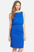 Nordstrom FELICITY & COCO Drape Back Blouson Jersey Dress Exclusive)