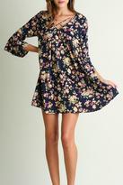 Umgee USA Flirty Floral Dress