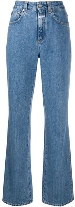 Closed High-Rise Bootcut Jeans