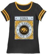 NCAA Iowa Hawkeyes Girls Foil T-Shirt