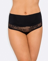 Nancy Ganz Sweeping Curves Lace G-String