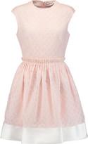 Carven Fantaisie cotton-blend cloqué mini dress