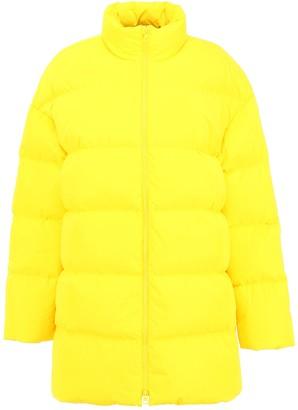 Calvin Klein Maxi Puffer Jacket With Logo
