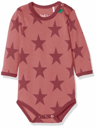 Fred's World by Green Cotton Baby Girls' Star Body Shaping Bodysuit