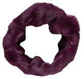 Diane von Furstenberg Rabbit Fur Infinity Scarf