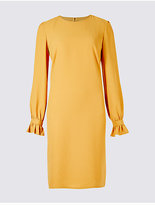 M&S Collection Frill Cuff Tunic Dress