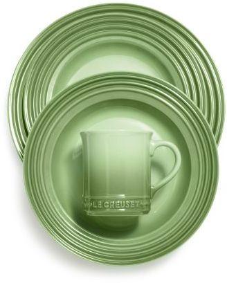 Le Creuset Rosemary 16-Piece Dinnerware Set
