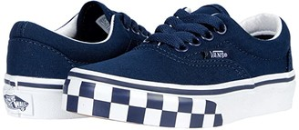 Vans Kids Era (Little Kid) ((Check Bumper) Dress Blue/True White) Boys Shoes