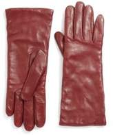 Saks Fifth Avenue Collection Cashmere-Lined Leather Gloves
