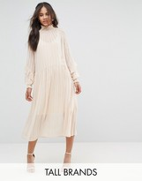 Y.A.S Tall Ruffle Detail Smock Dress