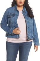 Plus Size Women's Rebel Wilson X Angels Just Fan Me Denim Jacket