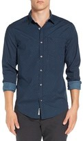 Original Penguin Men's Dot Print Poplin Shirt