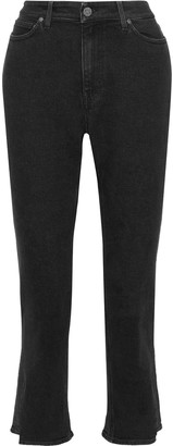 MiH Jeans Niki Cropped Mid-rise Slim-leg Jeans