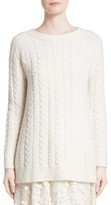 Co Women's Cable Knit Cashmere Blend Sweater