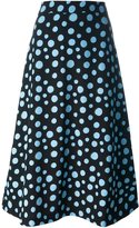 House of Holland spotlight print skirt