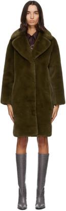 Stand Studio Green Camille Coat