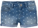 Crazy 8 Heart Jean Shorts