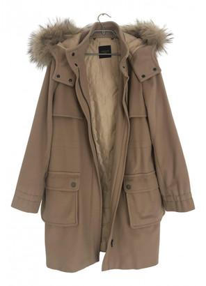 Max Mara Weekend Beige Wool Coats