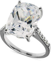 Arabella Swarovski Zirconia Oval Ring in Sterling Silver (15-5/8 ct. t.w.)
