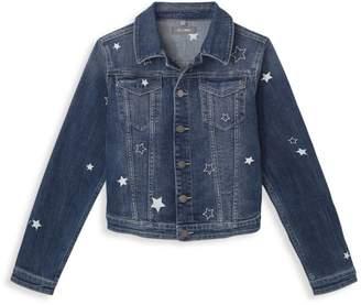 DL1961 Premium Denim Little Girl's & Girl's Star Denim Jacket